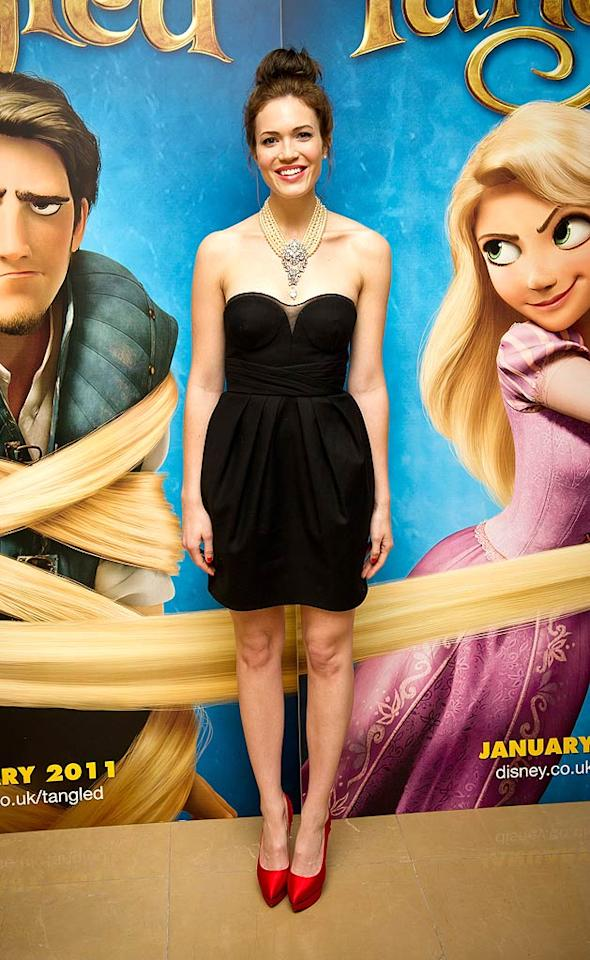 "Speaking of catastrophic coifs, check out the dilapidated 'do Mandy Moore unsuccessfully attempted to sport to the UK premiere of Disney's ""Tangled."" Talk about life imitating art! Ian Gavan/<a href=""http://www.gettyimages.com/"" target=""new"">GettyImages.com</a> - January 23, 2011"