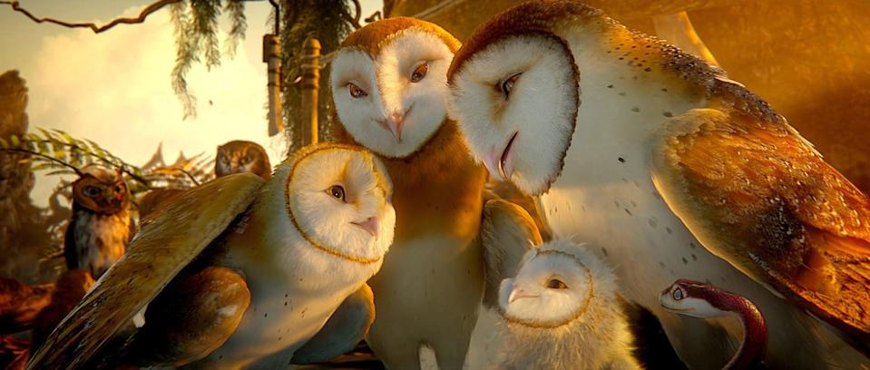 """<p><strong>HBO Max's Description:</strong> """"A father owl's tales of the Guardians of Ga'Hoole enthrall his son Soren, but an older son scoffs at the stories of winged warriors who fought an epic battle to save all of owlkind from the evil Pure Ones. Later, the brothers become captives of the Pure Ones, but Soren makes a daring escape and, with the help of other young owls, seeks out the Guardians and brings them back to defend their people once again.""""</p> <p><a href=""""https://play.hbomax.com/feature/urn:hbo:feature:GXdu2Sgrs5KXCPQEAADeq"""" class=""""link rapid-noclick-resp"""" rel=""""nofollow noopener"""" target=""""_blank"""" data-ylk=""""slk:Watch Legend of the Guardians: The Owls of Ga'Hoole on HBO Max here!"""">Watch <strong>Legend of the Guardians: The Owls of Ga'Hoole</strong> on HBO Max here!</a></p>"""