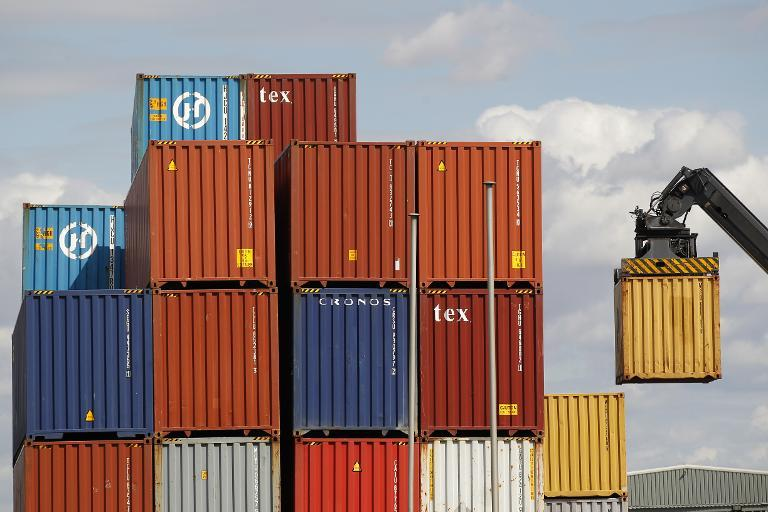 Britain's deficit in goods trade with the rest of the world grew to £10.2 billion in July (AFP Photo/C. Villemain)