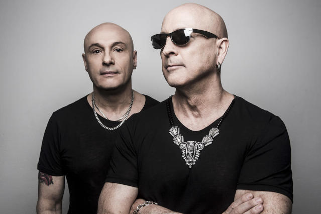 Right Said Fred today (Photo courtesy of A Badge of Friendship PR)