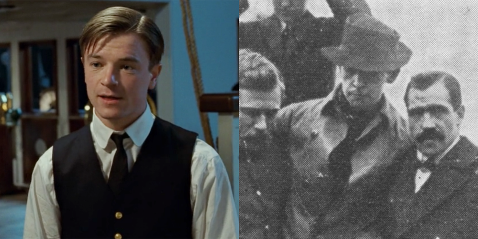 <p>Harold Bride, played by Craig Kelly, was the junior wireless operator on board <em>Titanic. </em>He did survive the sinking and testified during the Senate inquiry about it. </p>