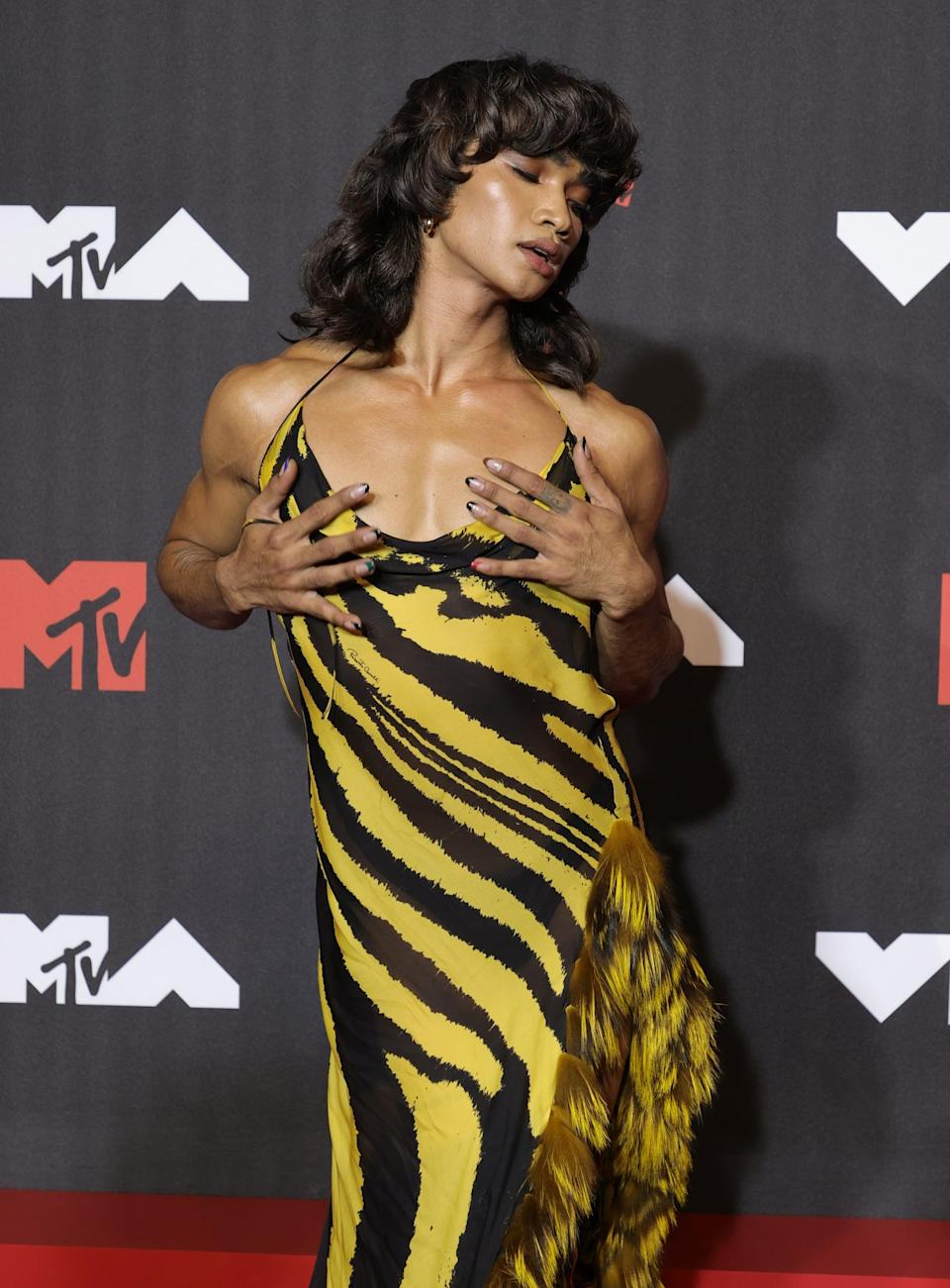 NEW YORK, NEW YORK - SEPTEMBER 12: Bretman Rock attends the 2021 MTV Video Music Awards at Barclays Center on September 12, 2021 in the Brooklyn borough of New York City. (Photo by Jamie McCarthy/Getty Images for MTV/ ViacomCBS)
