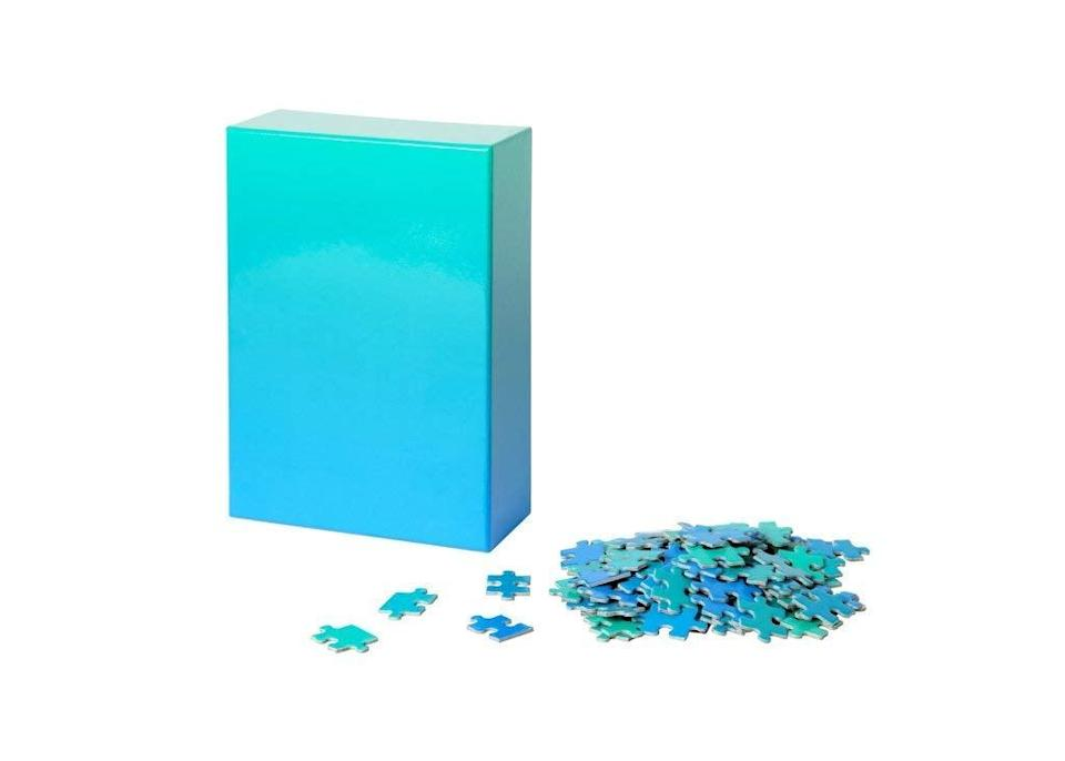 <p>Now this <span>Areaware Gradient Puzzle </span> ($25) is one tricky puzzle.</p>
