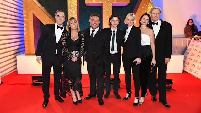 The current cast of Cold Feet, which has just aired its ninth series