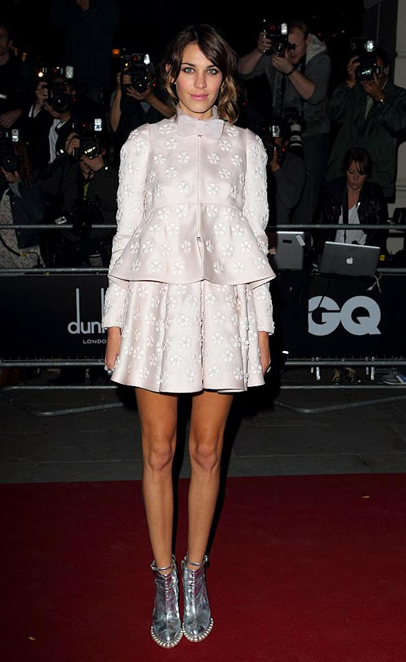 "We'll never quite understand why Alexa Chung is considered a style star, especially when she's seen in duds as dreadful as this Valentino disaster. Mike Marsland/<a href=""http://www.wireimage.com"" target=""new"">WireImage.com</a> - September 7, 2010"