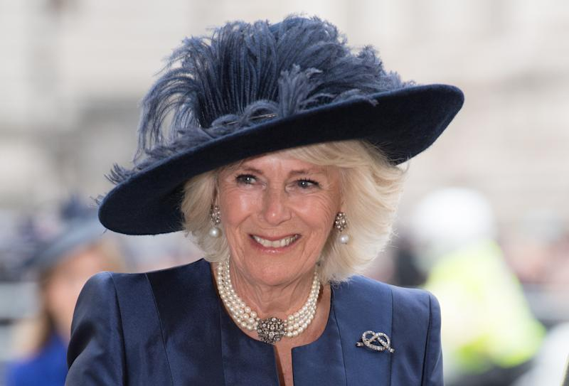 LONDON, ENGLAND - MARCH 09: Camilla, Duchess of Cornwall attends the Commonwealth Day Service 2020 on March 09, 2020 in London, England. (Photo by Samir Hussein/WireImage)