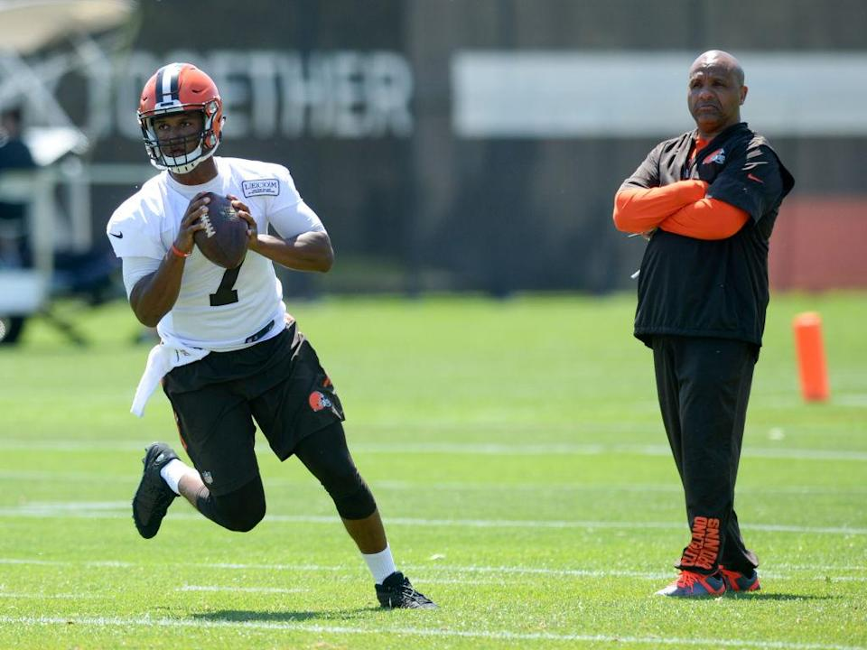 DeShone Kizer has some learning to do, but Coach Jackson is a pretty fair teacher. (Nick Cammett/Diamond Images/Getty Images