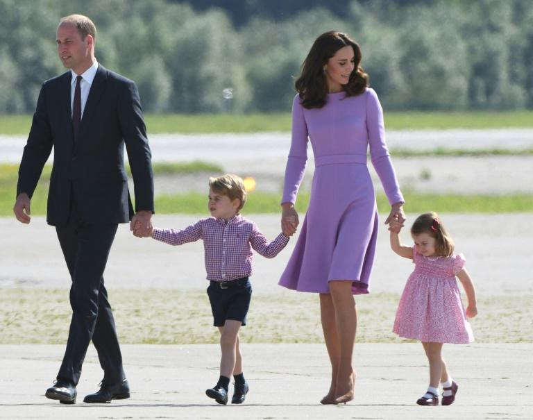 Prince William and his wife Kate are expecting their third child in April