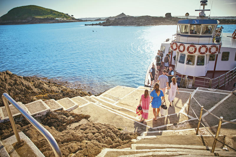 Go island hopping around Guernsey's beautiful archipelago.