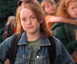 <p>Whether you were a Hallie or an Annie, you know <em>the</em> jean jacket from <em>The Parent Trap</em> we're talking about. Worn with a simple green t-shirt, a pair of sunnies, and pierced ears (duh), it's a vibe unlike any other. </p>