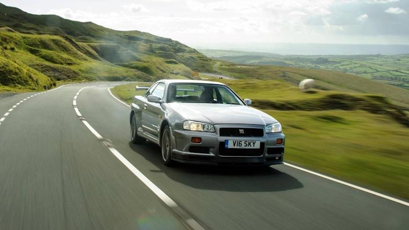 Nissan brings back R33 and R34 Skyline heritage parts