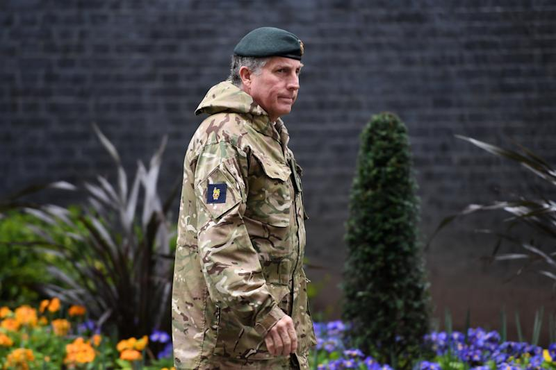 The UK's chief of the defence staff has accused Russia of trying to spread disinformation about potential coronavirus vaccines (Getty Images)