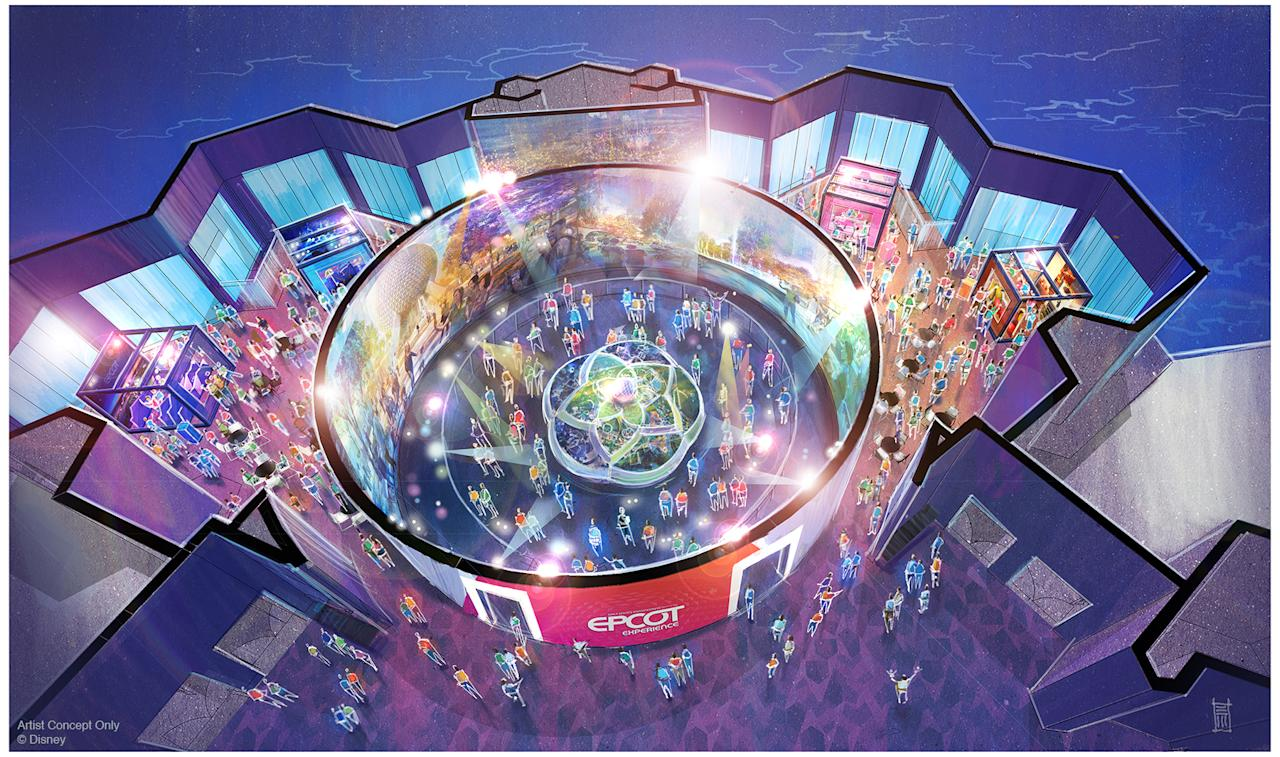 Guests will be able to visualize the exciting plans for Epcot when doors open Oct. 1, 2019. They will discover interactive exhibits that showcase the innovation driving the park's future. (Disney)