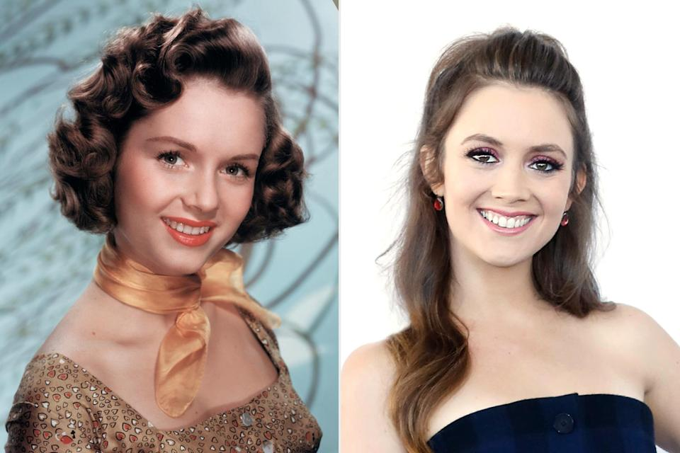 "<p>Born Mary Frances Reynolds, the Hollywood icon had an incredible career in TV, movies and dance before <a href=""https://people.com/movies/debbie-reynolds-dies-at-84-just-one-day-after-daughter-carrie-fisher-report/"" rel=""nofollow noopener"" target=""_blank"" data-ylk=""slk:passing away after Christmas 2016"" class=""link rapid-noclick-resp"">passing away after Christmas 2016</a>, one day after her daughter, <a href=""https://people.com/movies/carrie-fisher-dies/"" rel=""nofollow noopener"" target=""_blank"" data-ylk=""slk:Star Wars actress Carrie Fischer, died at 60"" class=""link rapid-noclick-resp""><em>Star Wars</em> actress Carrie Fischer, died at 60</a> after suffering a heart attack.</p> <p>Fisher's daughter Lourd made her screen debut as Lieutenant Connix in <em>Star Wars: The Forces Awakens</em> and Chanel #3 in <em>Scream Queens</em> (2015-2016). She also paid homage to her beloved grandmother by <a href=""https://people.com/tv/billie-lourd-played-debbie-reynolds-granddaughter-will-and-grace/"" rel=""nofollow noopener"" target=""_blank"" data-ylk=""slk:appearing on the reboot of Will & Grace as the granddaughter of Reynolds' character"" class=""link rapid-noclick-resp"">appearing on the reboot of <em>Will & Grace </em>as the granddaughter of Reynolds' character</a>.</p>"