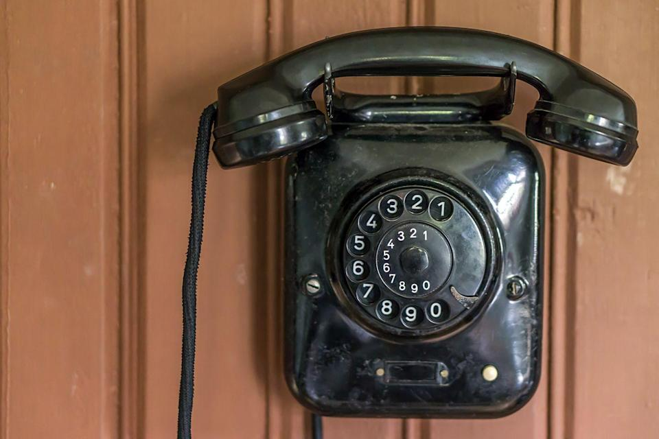 """<p>It used to take a lot longer to dial someone's phone number, especially if it had a lot of nines or zeroes in it. We'd bet that most people born after the baby boomer generation have only vague ideas about <a href=""""https://www.youtube.com/watch?v=CIDw75mUl6c"""" rel=""""nofollow noopener"""" target=""""_blank"""" data-ylk=""""slk:how to dial a rotary phone"""" class=""""link rapid-noclick-resp"""">how to dial a rotary phone</a>. </p>"""