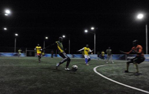 The Mathare association has a strong showing in ranks of street football -- a low-budget version of the game that can be played barefoot in the street without referees -- and dominated the previous two street football World Cup competitions in Germany in 2006 and South Africa in 2010