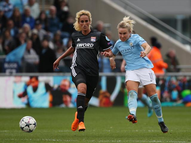 Women's Champions League: Manchester City draw with holders Lyon while Chelsea beaten by Wolfsburg