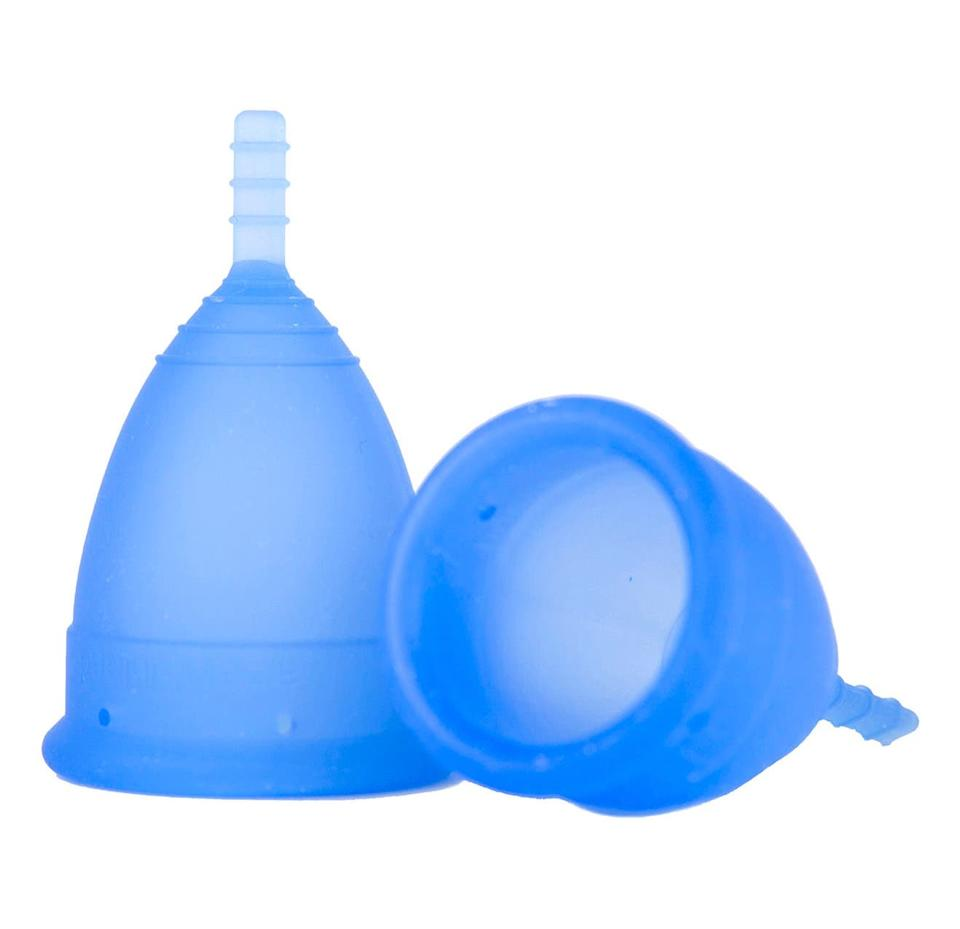 Package Free x Lunette Size 1 Reusable Menstrual Cup. Image via Nordstrom.