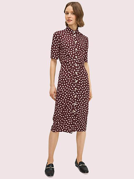 Cloud Dot Shirtdress. Image via Kate Spade.