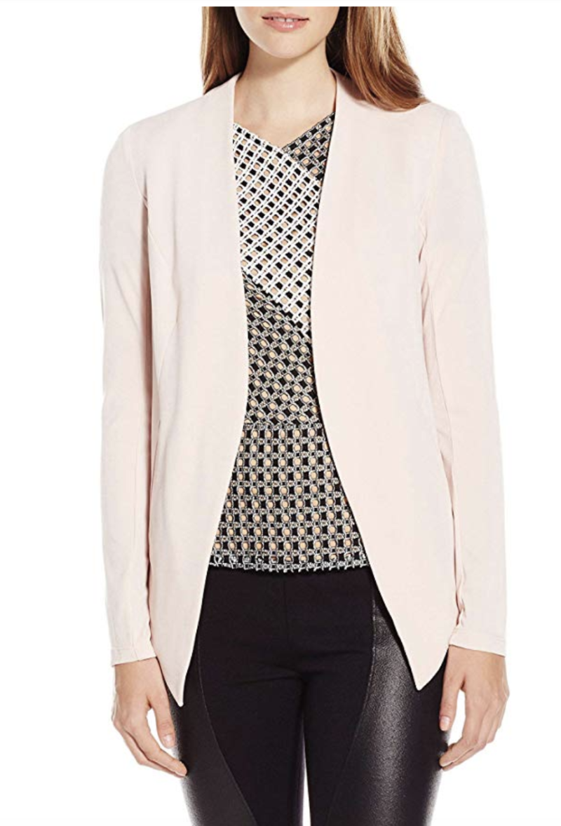 BCBGeneration Women's Tuxedo Blazer. (Photo: Amazon)