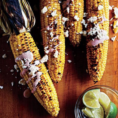 """<p>Look for crema at Latin markets or by the supermarket's Mexican cheeses. It's slightly tangier than sour cream.</p> <p> <a rel=""""nofollow noopener"""" href=""""http://www.myrecipes.com/recipe/oaxacan-grilled-corn-0"""" target=""""_blank"""" data-ylk=""""slk:View Recipe: Oaxacan-Style Grilled Corn on the Cob"""" class=""""link rapid-noclick-resp"""">View Recipe: Oaxacan-Style Grilled Corn on the Cob</a></p>"""