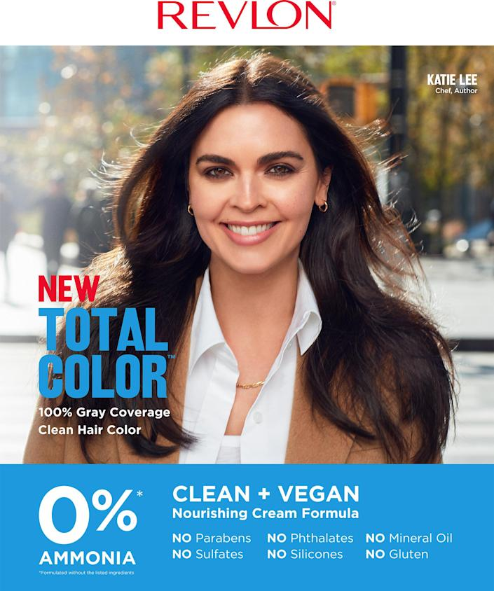 Official Katie Lee x Revlon Campaign