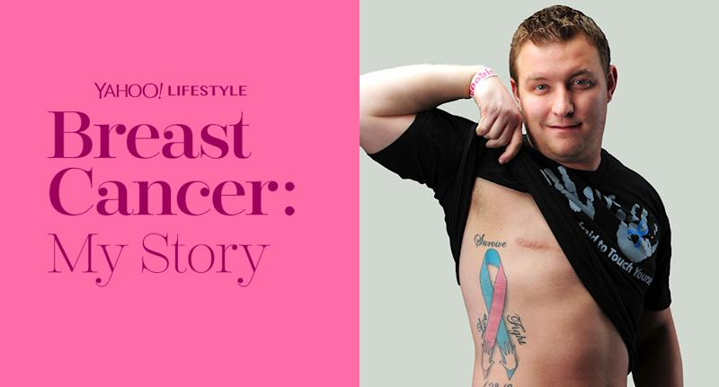 8872217e39 Male breast cancer survivor shares his story