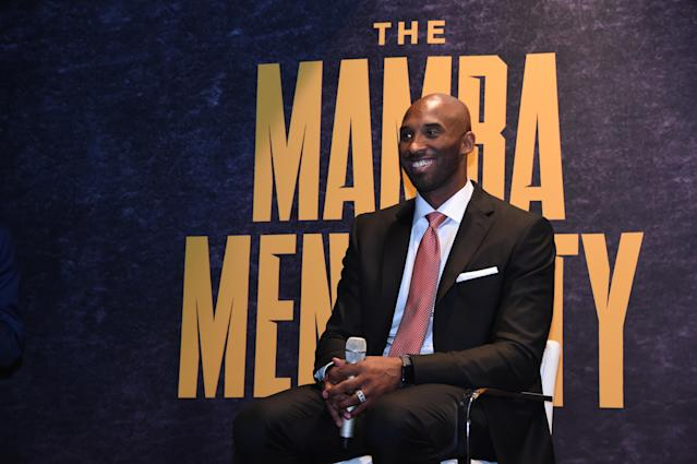 NBA legend Kobe Bryant surprised the Browns in a team meeting on Friday in Denver ahead of their Saturday night matchup against the Broncos. (Juan Ocampo/Getty Images)