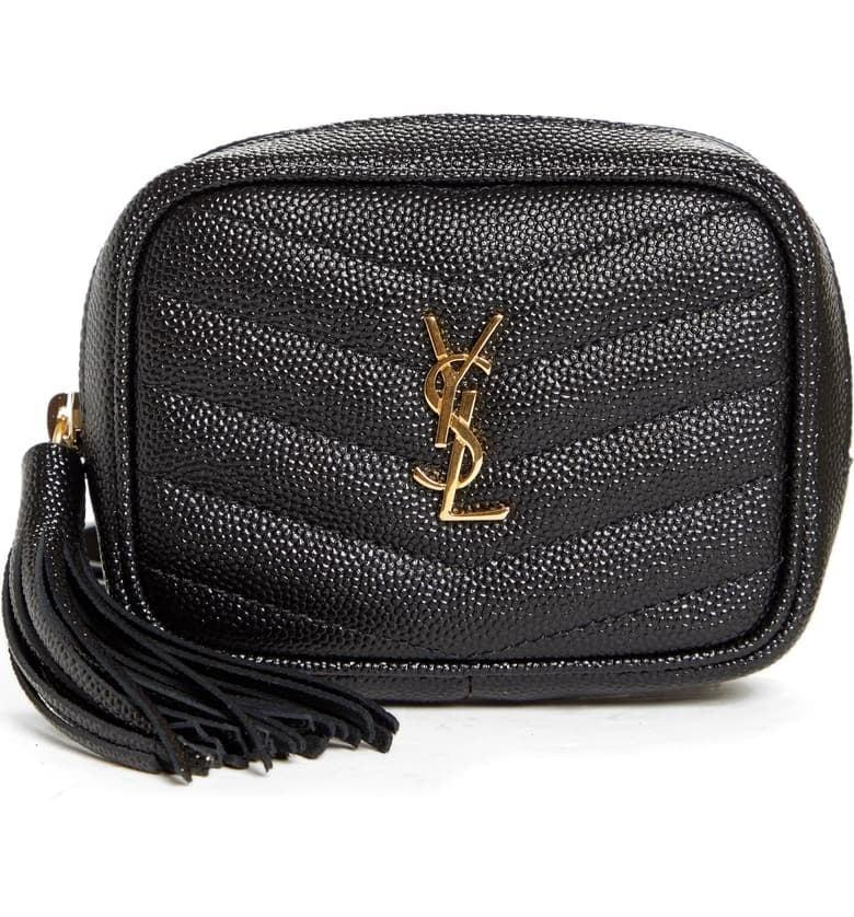 <p>The <span>Saint Laurent Baby Lou Quilted Leather Micro Crossbody Bag</span> ($725) is a good everyday bag.</p>