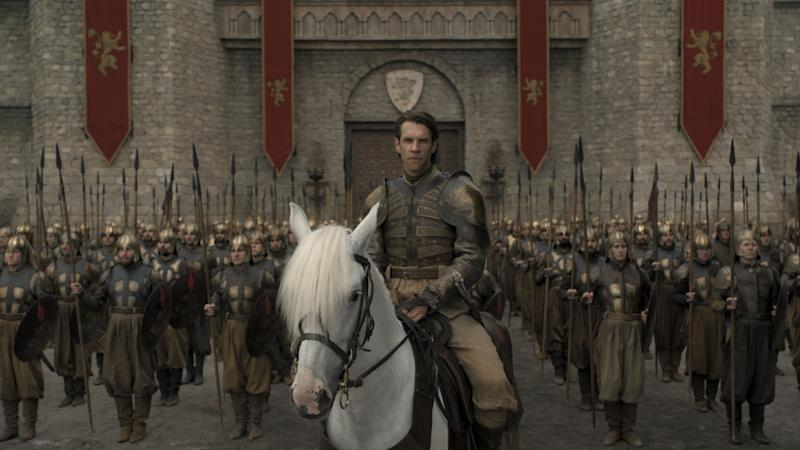 Golden Company captain Harry Strickland (Marc Rissmann) in 'Game of Thrones' (Photo: HBO)