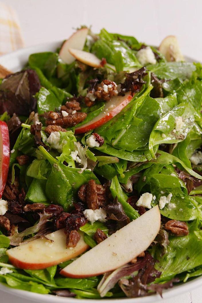 """<p>Looking for the best salad recipe for a dinner party?</p><p>Get the recipe from <a href=""""https://www.delish.com/cooking/recipe-ideas/recipes/a50683/holiday-apple-salad-recipe/"""" rel=""""nofollow noopener"""" target=""""_blank"""" data-ylk=""""slk:Delish"""" class=""""link rapid-noclick-resp"""">Delish</a>.</p>"""