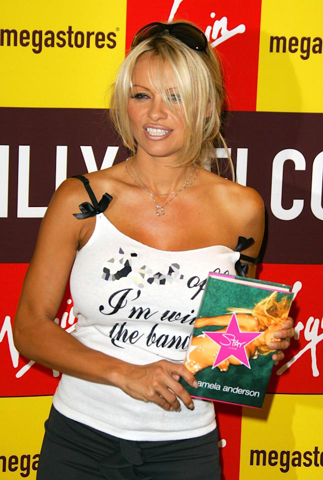 "Former ""Baywatch"" babe Pamela Anderson got into the book biz a few years ago when she (along with co-author, Eric Shaw Quinn) released <i>Star</i>, a thinly veiled novelization of her own wild rise to superstardom. Mike Marsland/<a href=""http://www.wireimage.com"" target=""new"">WireImage.com</a> - October 21, 2004"