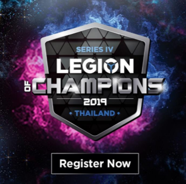 Lenovo & Intel Legion of Champions Series IV