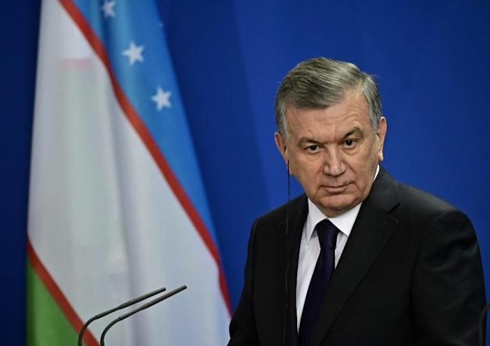 Since he took charge in 2016, President Shavkat Mirziyoyev has ushered in some reforms after years of isolation and authoritarian rule (AFP Photo/Tobias SCHWARZ)