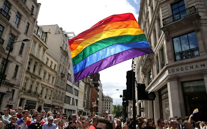 The Rainbow Flag as a GP in Northern Ireland welcomed the government's move to ban