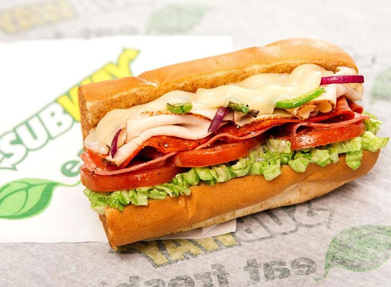 Subway Sandwich—Ranked for Nutrition