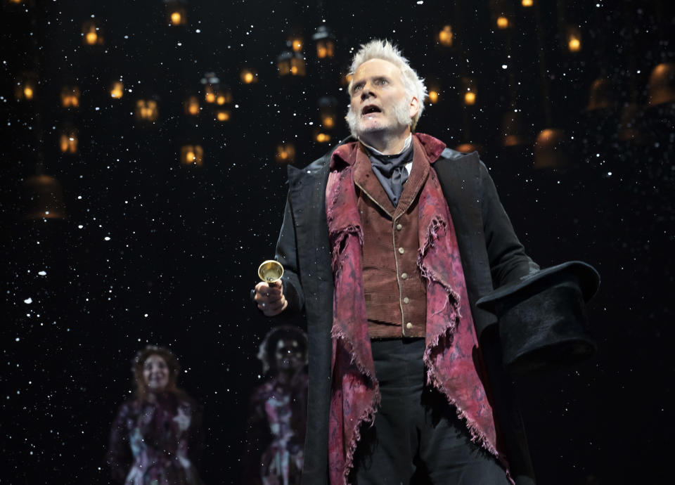 Campbell Scott, 'A Christmas Carol' 2019 - Credit: Courtesy Production
