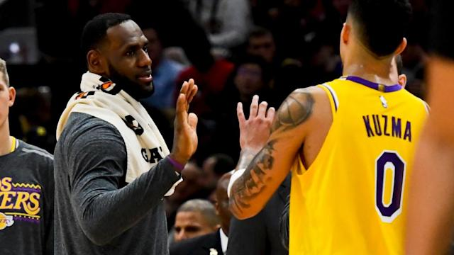 Kyle Kuzma partners with UNINTERRUPTED to give YMCA passes at free camp