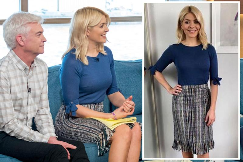 Divisive: TV star Holly Willoughby