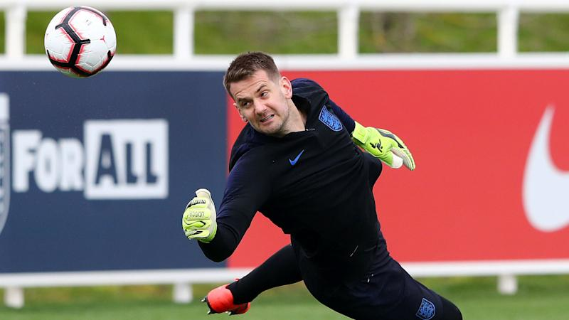 'Pickford has been outstanding for England' - Heaton unconcerned by national team-mate's Everton form