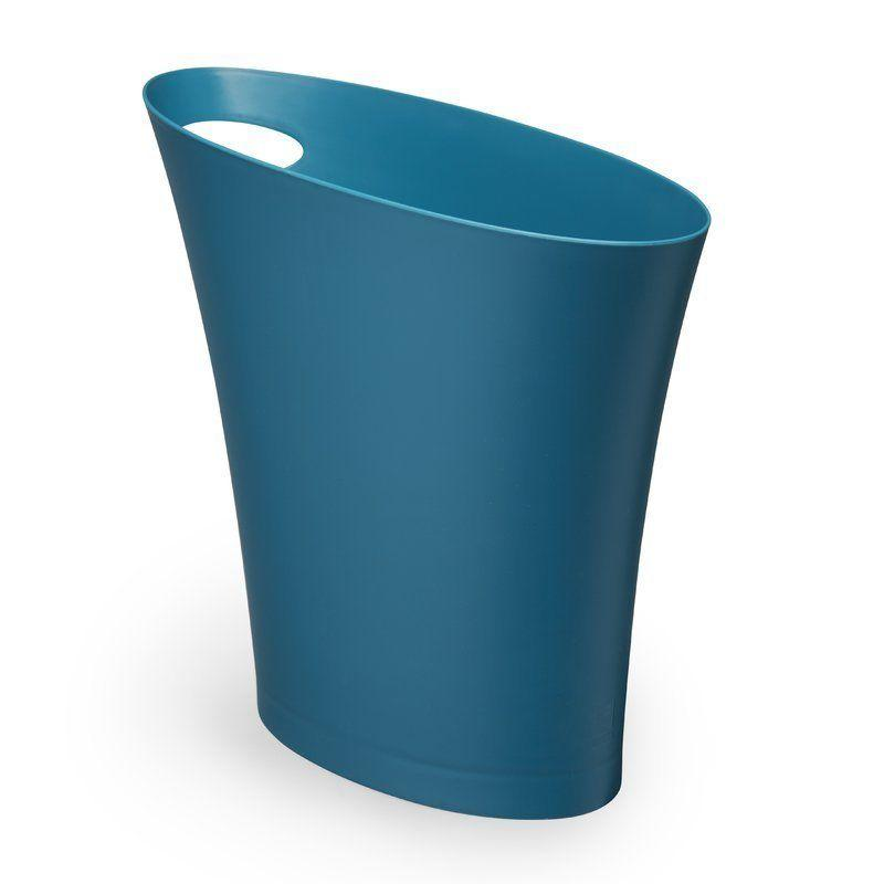 """A simple touch that will make all the difference when it comes to cleanliness. <a href=""""https://www.wayfair.com/Umbra-Skinny-2-Gallon-Waste-Basket-UMB1981.html?piid=20352148"""" target=""""_blank"""">Get it here</a>, $8."""