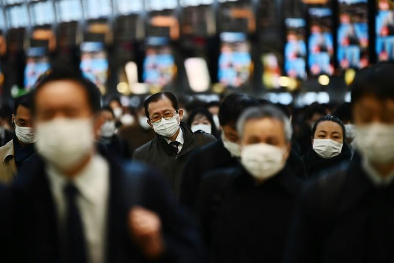 The Japanese government is facing criticism for its decision to shut schools nationwide to battle the coronavirus outbreak (AFP Photo/CHARLY TRIBALLEAU)