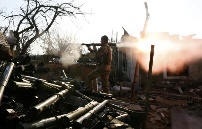Washington has said that ending the violence is its top priority in Ukraine