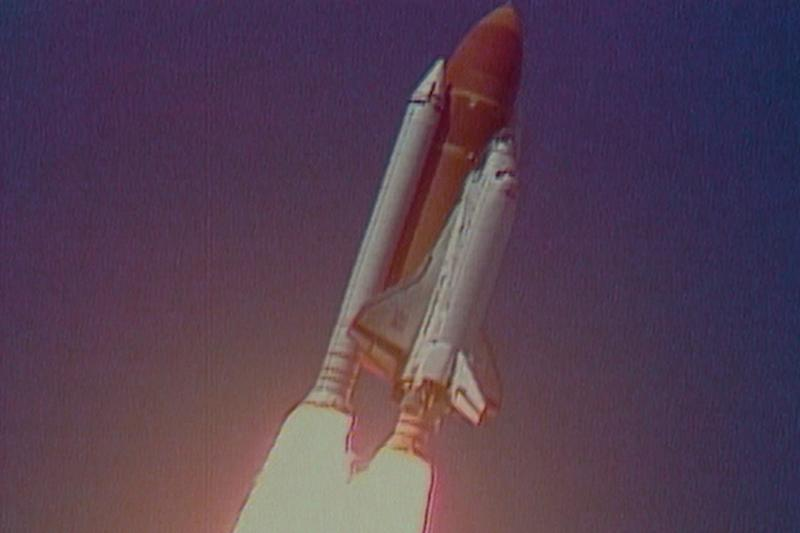 The doomed launch of the Space Shuttle Challenger as seen in the Netflix series 'Challenger: The Final Flight' (Photo: Public Domain/NASA)