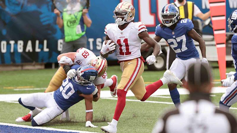 49ers snap count: Brandon Aiyuk steps up, new defensive linemen step in