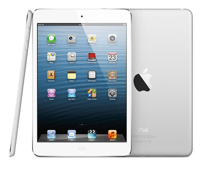 Deals on iPad Mini will let you pay as little as £59 up front (Image: Recombu)