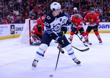 NHL: Winnipeg Jets at Chicago Blackhawks