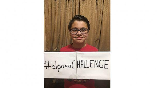 PHOTO: Ruben Martinez, 11, created a kindness challenge in the wake of the mass shooting in El Paso, Texas. (Rose Gandarilla)