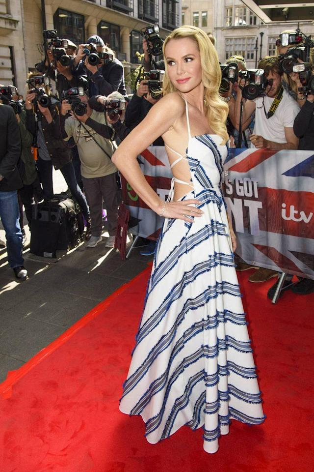 Amanda Holden attends the 2017 Britain's Got Talent launch. (Photo: PA)