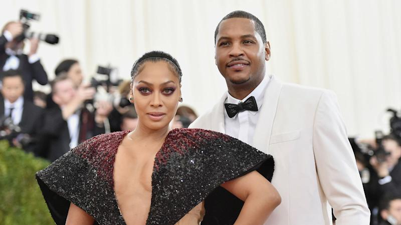 Carmelo Anthony reportedly got a stripper pregnant before separation from wife La La